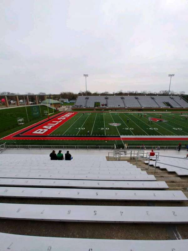 Scheumann Stadium, section: F, row: 30, seat: 4