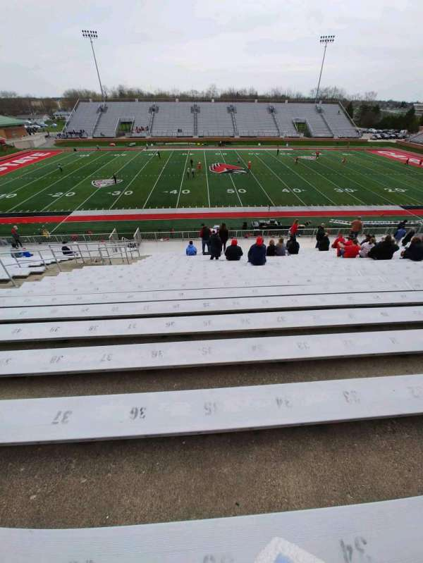 Scheumann Stadium, section: D, row: 30, seat: 28