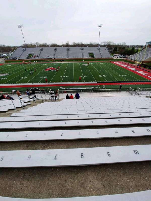 Scheumann Stadium, section: C, row: 30, seat: 8