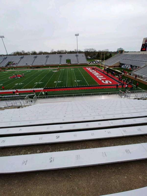 Scheumann Stadium, section: B, row: 30, seat: 16