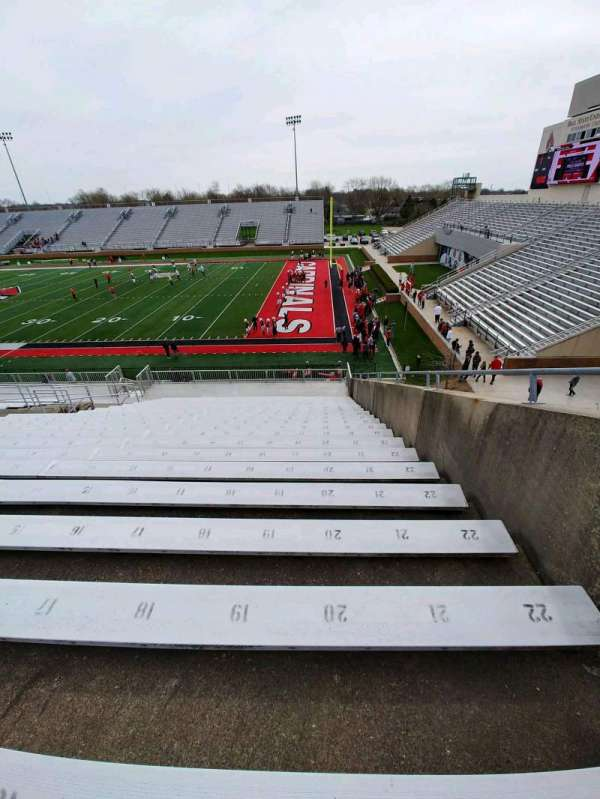 Scheumann Stadium, section: S, row: 30, seat: 20