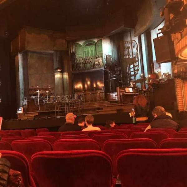 Walter Kerr Theatre, section: Orchestra R, row: L, seat: 14