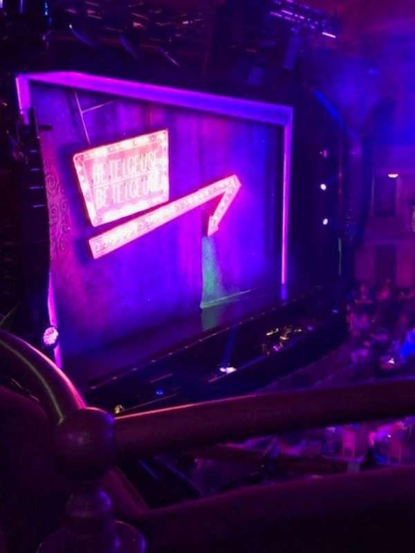 Winter Garden Theatre, section: Mezzanine L, row: A, seat: 13