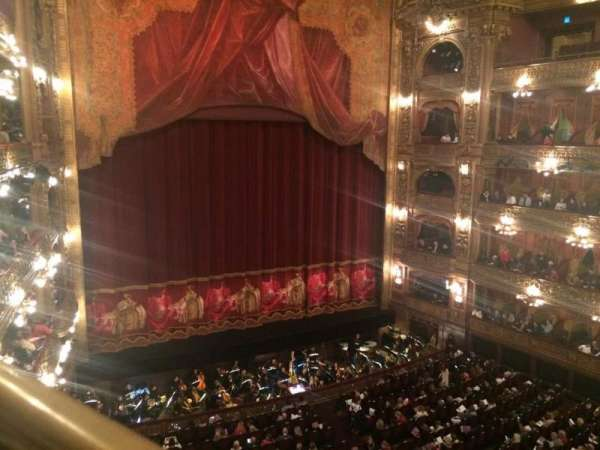 Teatro Colón, section: Cazuela lateral, row: 1, seat: 39