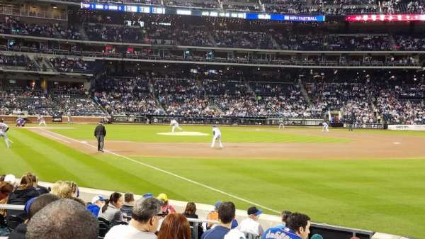 Citi Field, section 107, home of New York Mets on
