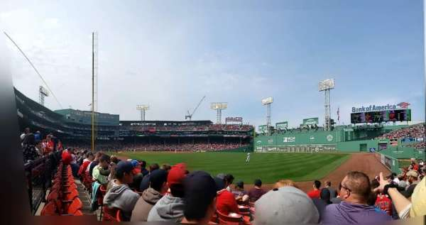 Fenway Park, section: RIGHT FIELD BOX 3, row: K