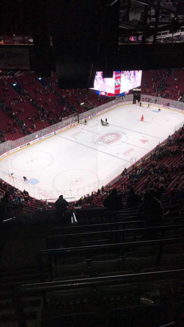 Centre Bell, section: 406, row: C, seat: 15
