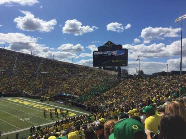 Autzen Stadium, section: 10, row: 41
