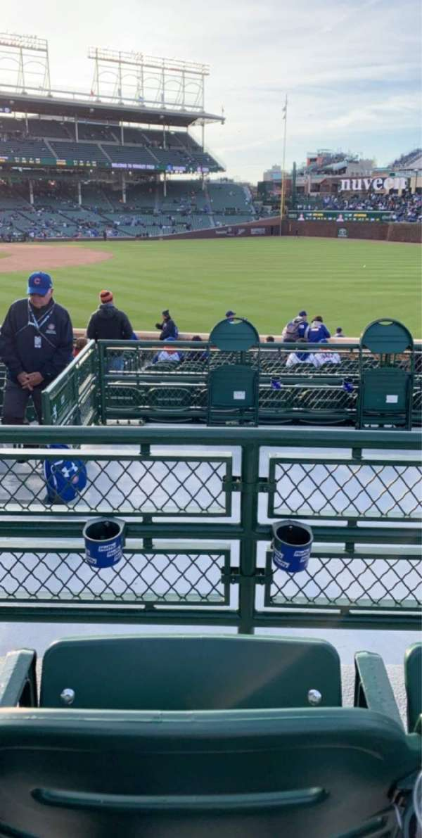 Wrigley Field, section: 232, row: 2, seat: 10