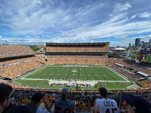 Heinz Field, section: 535, row: H, seat: 12