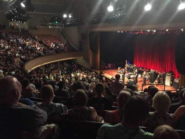 Ryman Auditorium, section: BAL-10, row: L, seat: 8