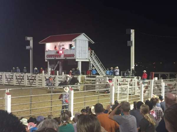 Cowtown Rodeo, section: General Admission, row: 8 , seat: South Bleachers