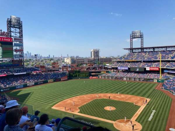 Citizens Bank Park, section: 322, row: 5, seat: 24