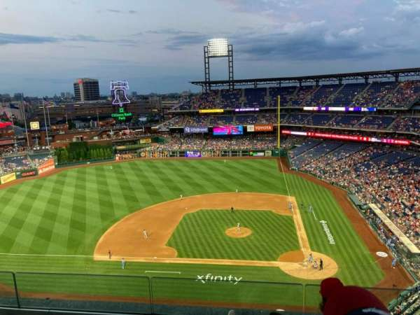 Citizens Bank Park, section: 425, row: 4, seat: 4