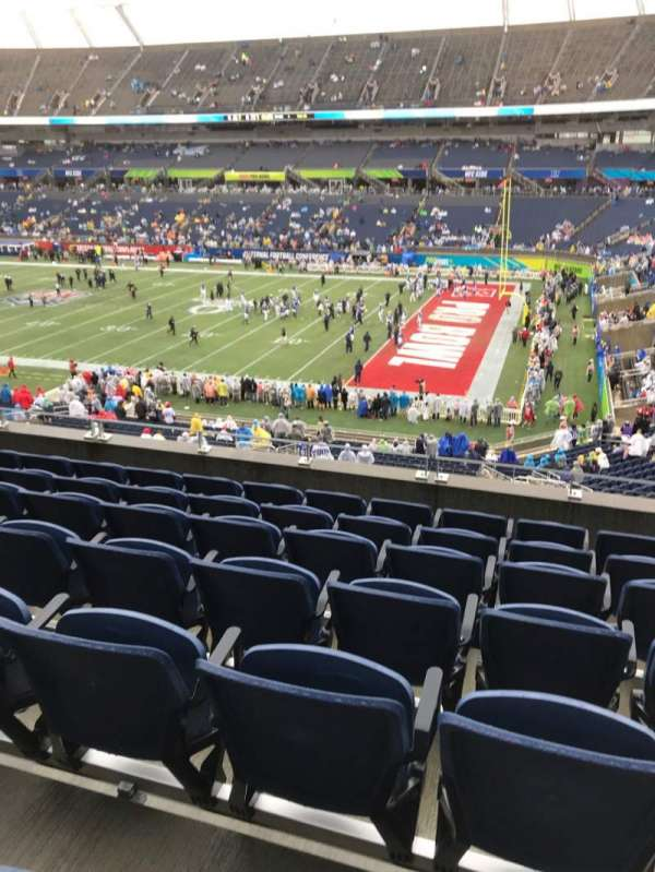 Camping World Stadium, section: P03, row: F, seat: 6