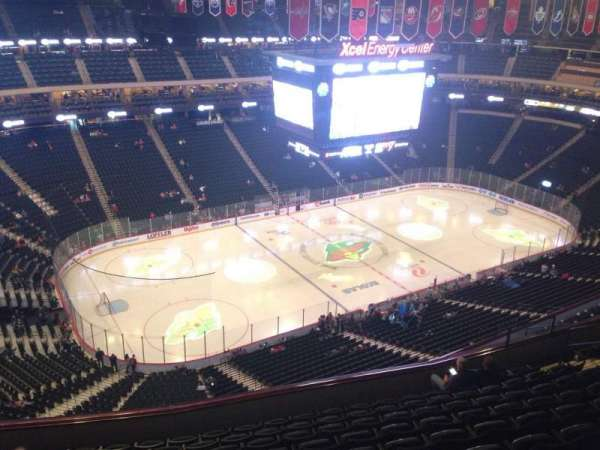 Xcel Energy Center, section: 222, row: 10, seat: 16