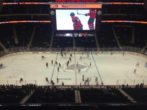 Xcel Energy Center, section: 219, row: 4, seat: 13