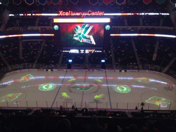 Xcel Energy Center, section: 204, row: 7, seat: 4