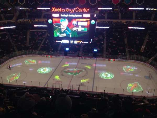 Xcel Energy Center, section: 203, row: 9, seat: 13