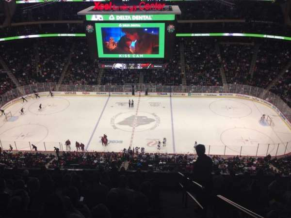 Xcel Energy Center, section: 219, row: 10, seat: 1