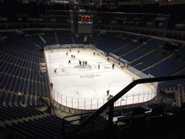 Target Center, section: 203, row: F, seat: 1