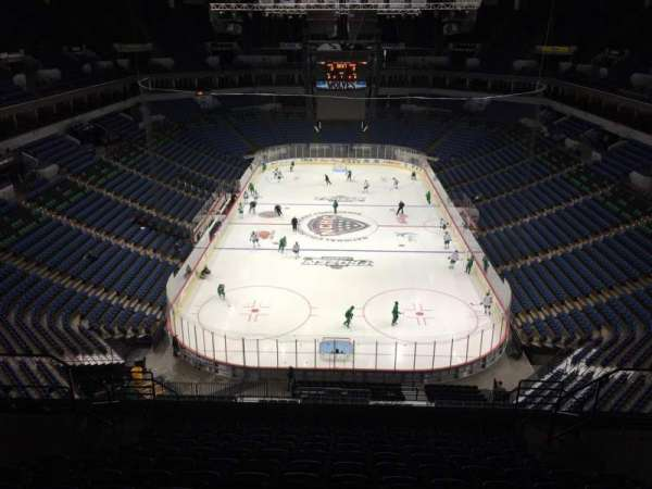 Target Center, section: 221, row: N, seat: 7