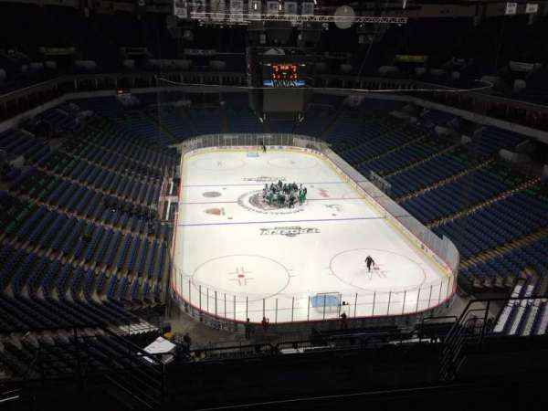 Target Center, section: 222, row: M, seat: 10