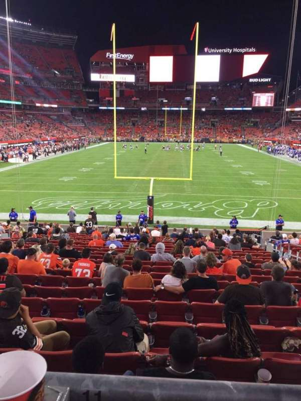 FirstEnergy Stadium, section: 147, row: WC, seat: 11