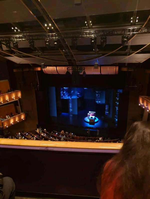 Ahmanson Theatre, section: Balcony, row: B, seat: 12
