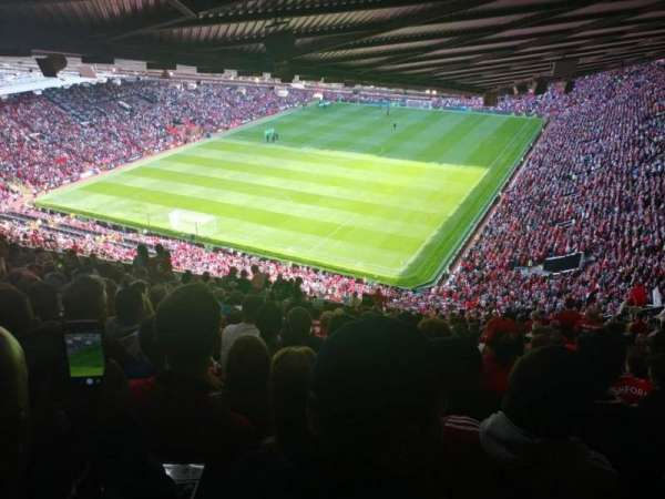 Old Trafford, section: NE3417, row: 41, seat: 144