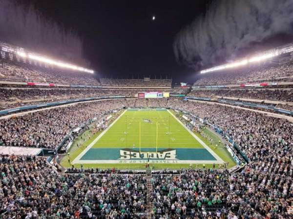 Lincoln Financial Field, section: 235, row: 1, seat: 6