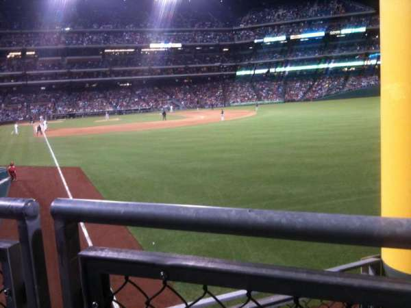 Citizens Bank Park, section: 107, row: 4, seat: 3