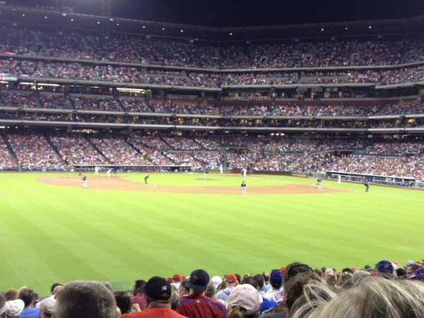 Citizens Bank Park, section: 146, row: 18, seat: 7