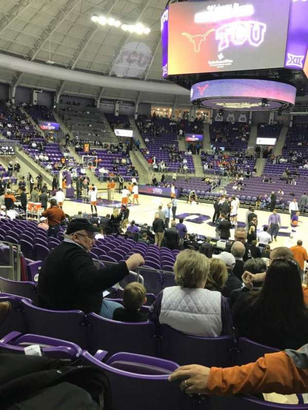 Schollmaier Arena, section: 110, row: F, seat: 10