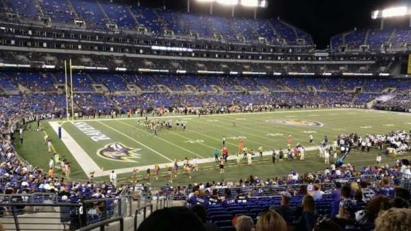M&T Bank Stadium, section: 132, row: M, seat: 24