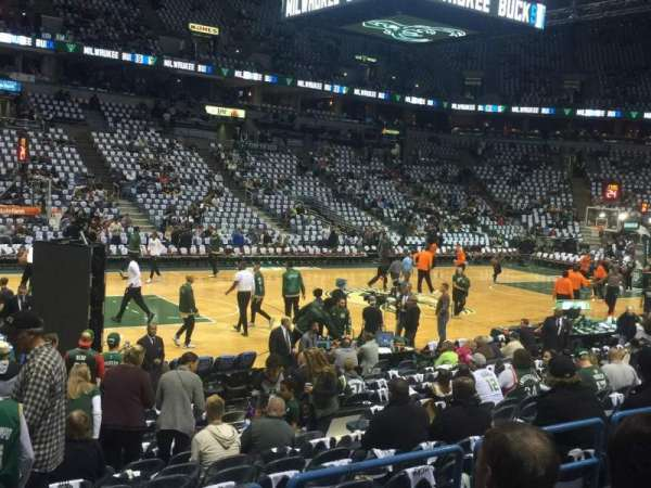 BMO Harris Bradley Center, section: 212, row: N
