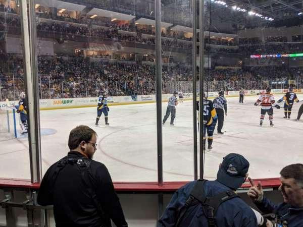 Huntington Center, section: 110, row: C, seat: 3