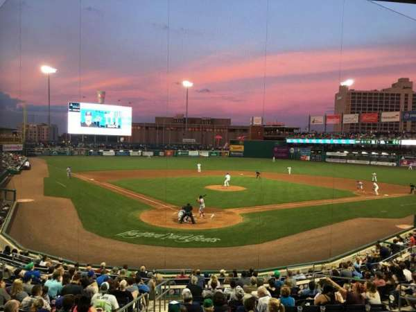 Dunkin Donuts Park Section 110 Row R Seat 12