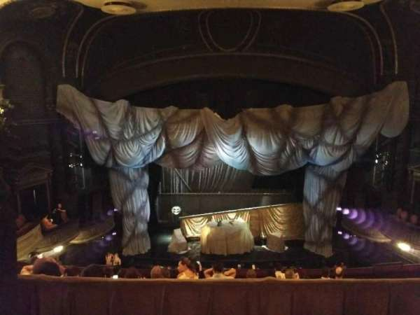 Majestic Theatre, section: Rear Mezzanine LC, row: A, seat: 101