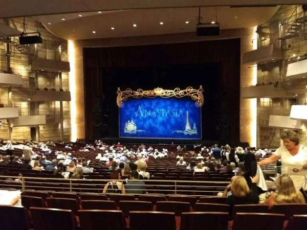 The Buell Theatre, section: Orchestra C, row: UU, seat: 3