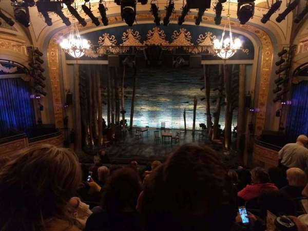 Gerald Schoenfeld Theatre, section: Mezzanine C, row: J, seat: 110