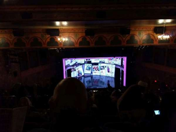 August Wilson Theatre, section: Mezzanine C, row: Q, seat: 113