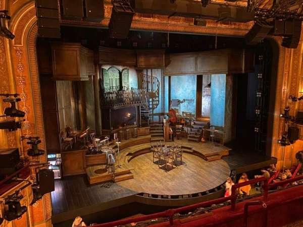 Walter Kerr Theatre, section: Mezzanine L, row: D, seat: 9