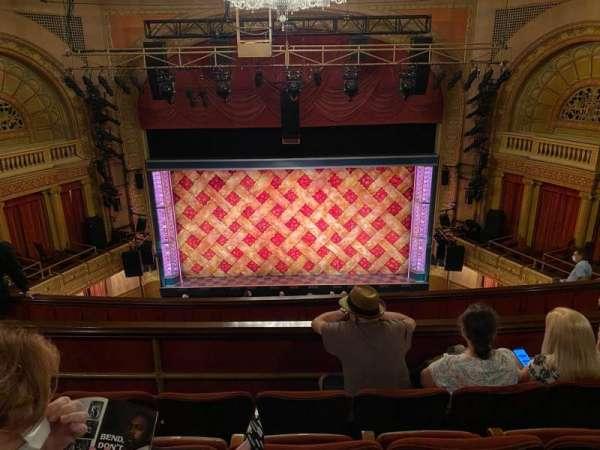 Ethel Barrymore Theatre, section: Rear Mezzanine C, row: D, seat: 108