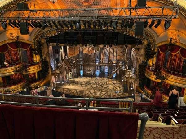 Richard Rodgers Theatre, section: Rear Mezzanine C, row: H, seat: 101