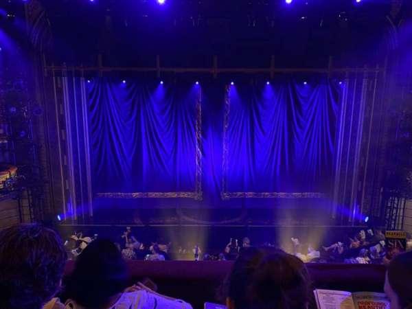 Brooks Atkinson Theatre, section: Front Mezzanine C, row: C, seat: 107