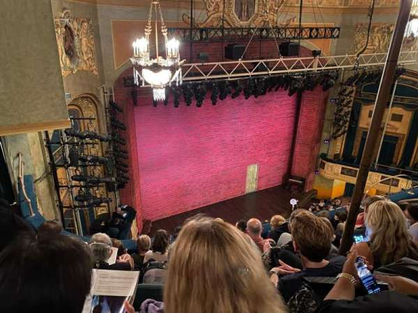 Shubert Theatre, section: Balcony L, row: F, seat: 21