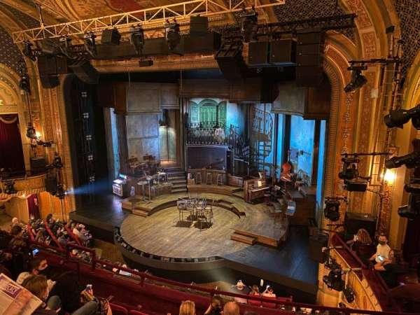 Walter Kerr Theatre, section: Mezzanine R, row: F, seat: 18