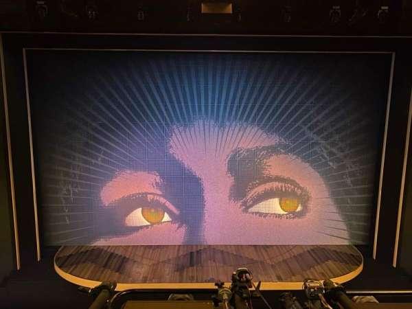 Lunt-Fontanne Theatre, section: Mezzanine C, row: A, seat: 107