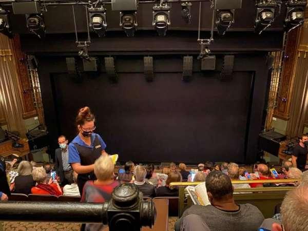 Nederlander Theatre, section: Mezzanine, row: J, seat: 106
